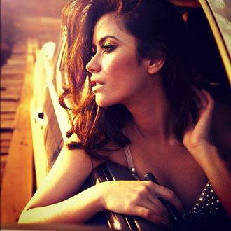 Фото Модель Nataniele Ribiero / Натаниель Рибейро в окне автомобиля