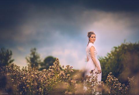 Фото Девушка на природе, фотограф Jessica Drossin