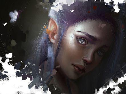 Фото Портрет девушки-эльфийки, by Aoleev