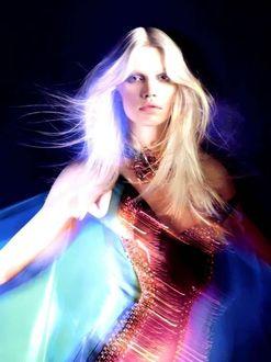 Фото Белокурая модель Aline Weber / Элин Вебер, Фотограф Laurence Passera / Лоренс Пассера