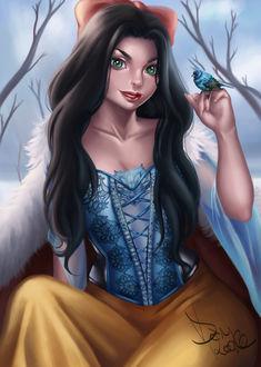 Фото Белоснежка / Snow White из сказки Snow White and the Seven Dwarfs / Белоснежка и семь гномов, by DanRooke (© Мася-тян), добавлено: 19.03.2017 00:37
