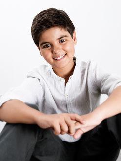 Фото Авраам Матео - испанский мальчик-певец