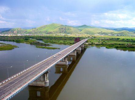 Фото Мост через реку Селенгу