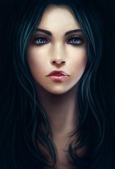 Фото Портрет девушки с зелеными волосами и с голубыми глазами (© Margo Fly), добавлено: 19.03.2017 19:51