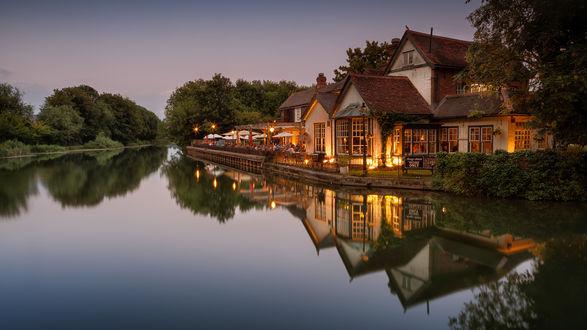 Фото Вечерний отдых у реки