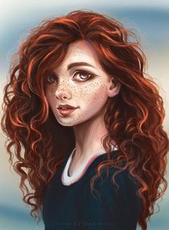 Фото Рыжеволосая девушка в веснушках, by Dzydar (© Arinka jini), добавлено: 20.03.2017 14:20