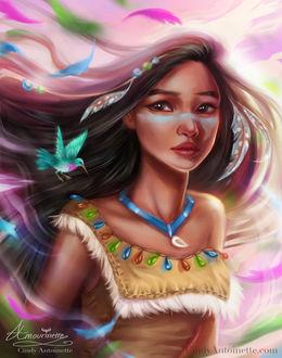 Фото Портрет Pocahontas / Покахонтас, by Amourinette (© Arinka jini), добавлено: 20.03.2017 14:22