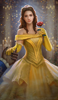 Фото Белль / Belle из мультфильма Красавица и чудовище / Beauty and the Beast, by Andyliongart
