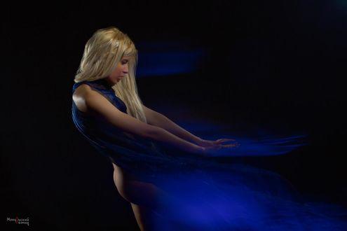 Фото Девушка в голубом, фотограф Мочульский Леонид