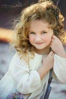 Фото Портрет русоволосой милой девочки, by Sandra Bianco