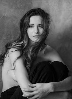 Фото Девушка с длинными волосами, by MartaSyrko