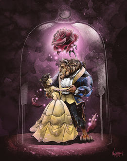 Фото Beauty and the Beast / Красавица и Чудовище, by thefreshdoodle