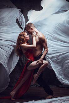 Фото Парень с девушкой в танце, фотограф Елена Молчанова