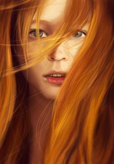 Фото Красивая девушка с рыжими волосами (© chucha), добавлено: 26.03.2017 00:11