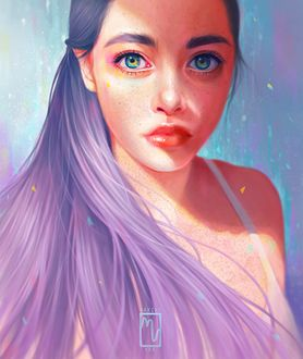 Фото Девушка с красивыми глазами (© chucha), добавлено: 26.03.2017 00:16