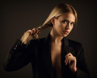 Фото Милая девушка в пиджаке, фотограф Сергей Сорокин
