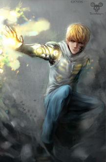 Фото Genos / Генос из аниме One Punch Man / ВанПанчМен, by Tecnomayro