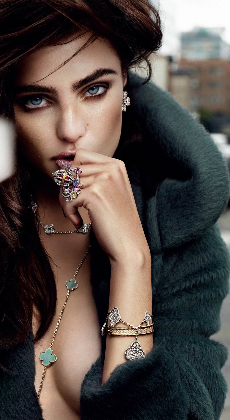 Фото Модель Маринет Матти в фотосессии для Vogue Nederland