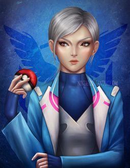 Фото Blanche / Бланш из игры Pokemon GO, by Nindei
