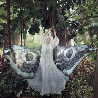 Фото Девушка в образе бабочки. Фотограф Margarita Kareva