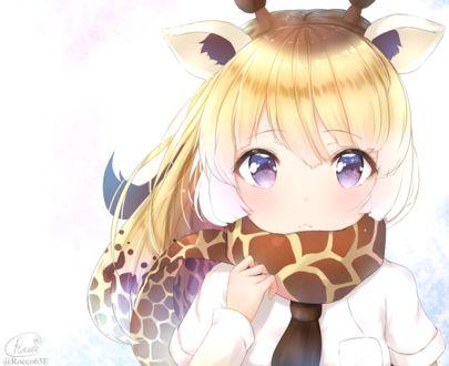 Фото Сетчатый Жираф / Reticulated Giraffe из аниме Друзья-зверушки / Kemono Friends, by Ricco65E