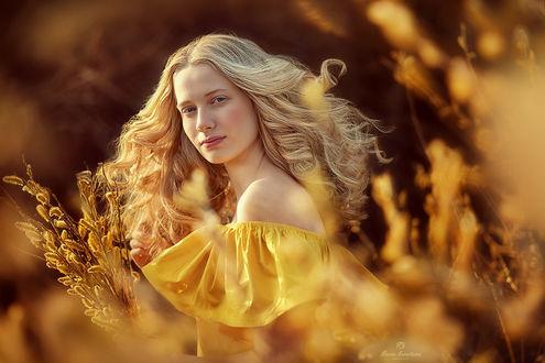 Фото Девушка на природе, фотограф Марина Кузнецова