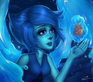 Фото Ляпис Лазурит / Lapis Lazuli из мультсериала Вселенная Стивена / Steven Universe, by harutosuzumiya21 (© chucha), добавлено: 20.04.2017 11:02