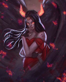 Фото Огненная демоница, by AngelGanev (© chucha), добавлено: 20.04.2017 11:06