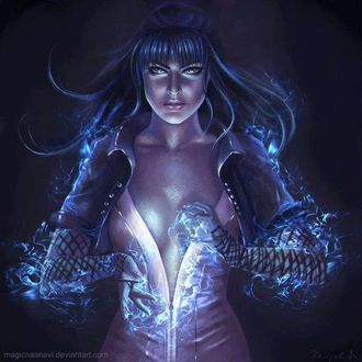 Фото Девушка с магией в руках, by Magicnaanavi