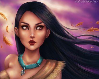 Фото Покахонтас / Pocahontas из мультфильма Pocahontas / Покахонтас, by Nindei (© Мася-тян), добавлено: 21.04.2017 00:21