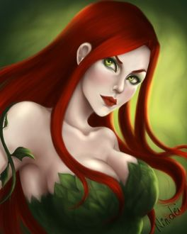 Фото Poison Ivy / Ядовитый плющ из DC Comics, by Nindei (© Мася-тян), добавлено: 21.04.2017 00:32
