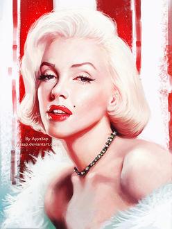 Фото Портрет легендарной актрисы Marilyn Monroe / Мэрилин Монро, by AyyaSap