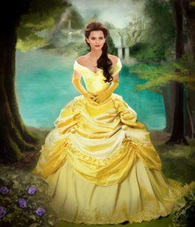 Фото Emma Watson / Эмма Уотсон в роли Belle / Белль - Beauty and the Beast / Красавица и Чудовище, by XDaiaX