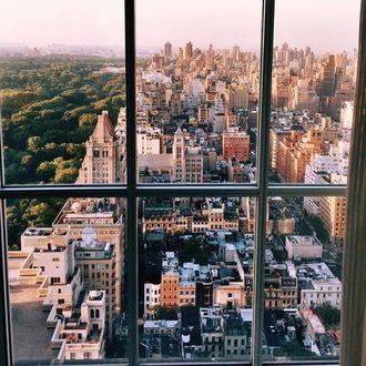 Фото Вид с окна на город