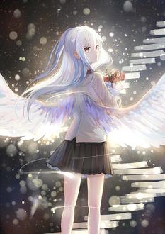 Фото Канадэ Татибана / Kanade Tachibana из аниме Ангельские ритмы! / Angel Beats!