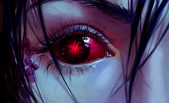 Фото Женский демонический глаз, by chirun