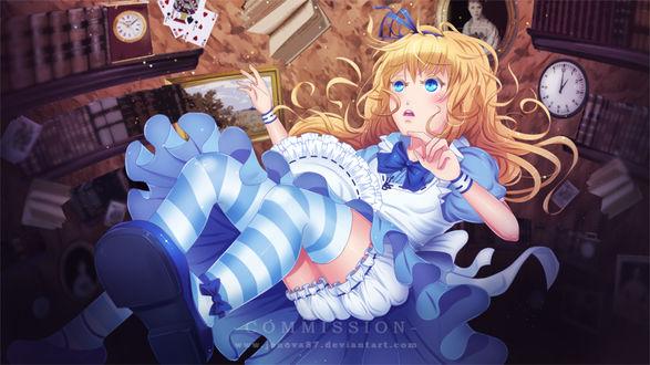 Фото Alice Liddell / Алиса Лидделл из сказки Алиса в Стране Чудес / Alice in Wonderland, by Jenova87