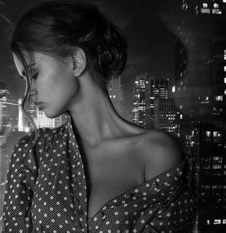 Фото Девушка на фоне города, фотограф Kristina Kazarina