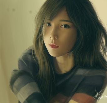 Фото Ким Тэ Ён / Kim Tae Yeon-главная вокалистка южно-корейской группы SNSD, by Demonconstruct