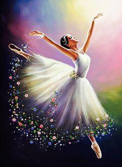 Фото Балерина в танце