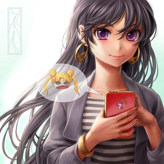 Фото Rei Hino / Рэй Хино из аниме Bishoujo Senshi Sailor Moon / Красавица-воин Сейлор Мун, by Kotikomori