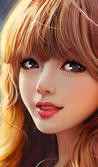 Фото Милая девушка с рыжими волосами, by YellowLemonCat