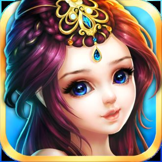 Фото Портрет девушки с украшением на волосах