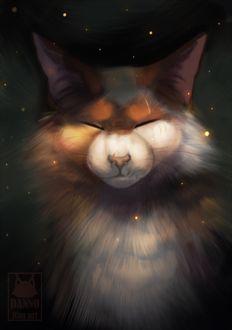 Фото Кленовница / Mapleshade из серии романов Коты-Воители / Cats-Warriors, by DannoItanArt