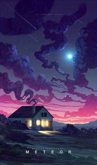 Фото Домик под ночным небом, Andrea Koroveshi