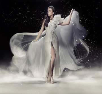 Фото Девушка в красивом платье, фотограф Konrad Bak