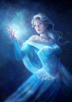 Фото Elsa / Эльза из мультфильма Frozen / Холодное сердце, by gabrielleragusi