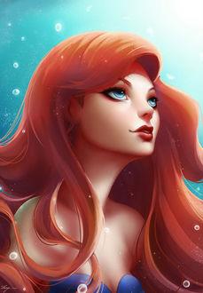 Фото Принцесса Ариель / Ariel из мультфильма Русалочка / The Little Mermaid, by Zarory