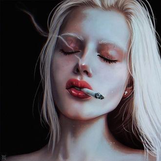 Фото Девушка с сигаретой, by Julia Razumova