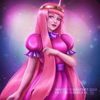 Фото Princess Bubblegum / Принцесса Бубульгум из мультсериала Время приключений / Adventure Time, by Nindei